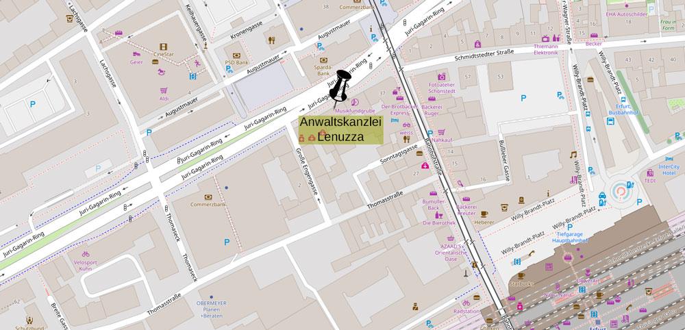 Standort Erfurt